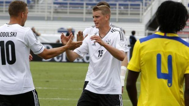 Ecuador perdió 4-2 con Alemania en amistoso previo a choque con Perú