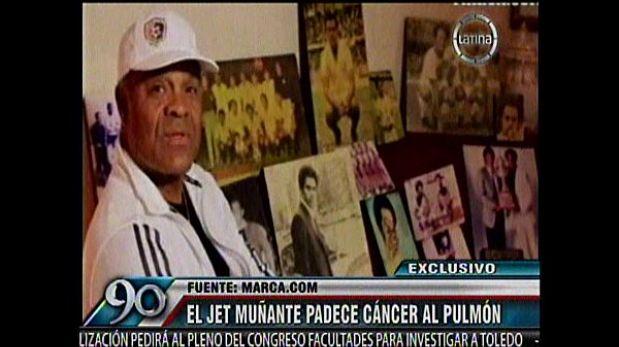 J.J. Muñante lucha contra el cáncer de pulmón a sus 64 años