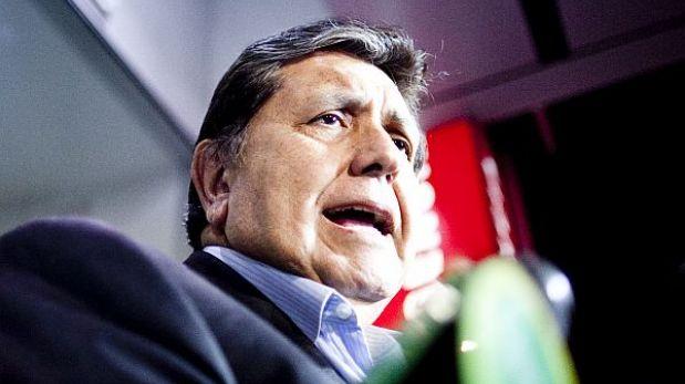 """Investigación inmobiliaria a Alan García hubiera retrasado a megacomisión"""