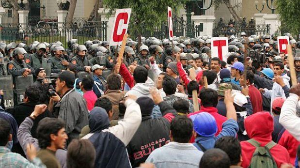 Ley de Servicio Civil: trabajadores estatales suspendieron huelga