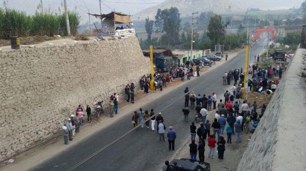 FOTOS: así se vio la tensión por el frustrado desalojo de la azucarera Andahuasi
