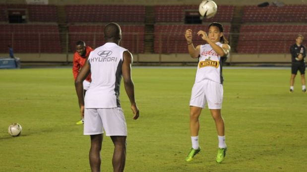 FOTOS: selección peruana reconoció el estadio Rommel Fernández, en el que jugará con Panamá