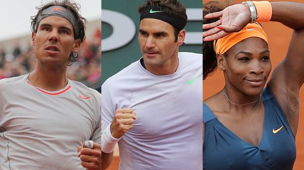 Nadal, Federer y Williams avanzaron en el Roland Garros