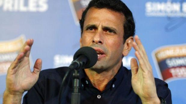 Se suspendió la visita de Henrique Capriles a Lima
