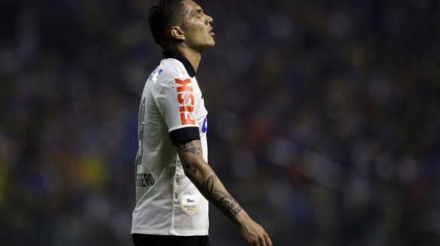 Paolo Guerrero jugó los 90 minutos en la victoria de Corinthians
