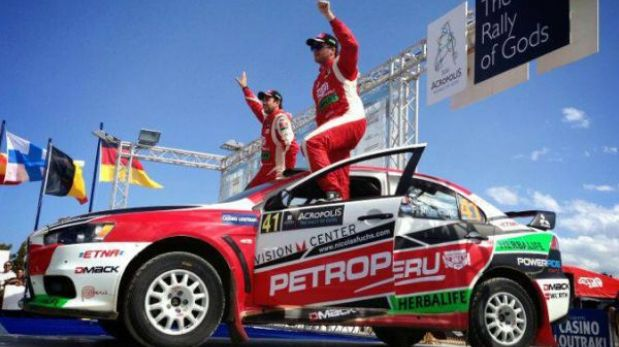 Nicolás Fuchs ganó el Rally de Grecia y sueña con el título mundial