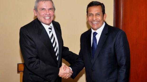 Luis Castañeda confirmó su asistencia a la reunión convocada por Humala
