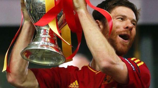 Xabi Alonso quedó fuera de la Copa Confederaciones 2013