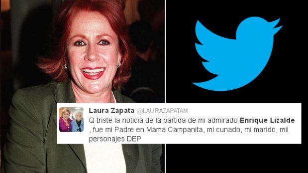 Figuras del espectáculo mexicano lamentan la muerte de Enrique Lizalde