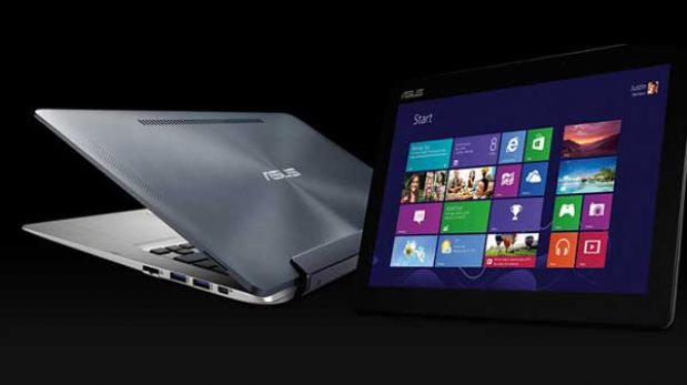 Una laptop que se transforma en tablet usa Windows y Android a la vez
