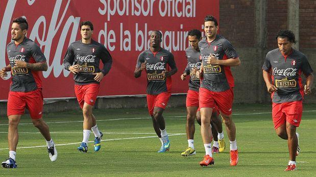 FOTOS: Claudio Pizarro y Paolo Guerrero cumplieron primer entrenamiento con la selección peruana