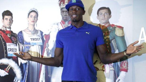 """Usain Bolt: """"Me quedan cuatro años y quiero seguir dominando"""""""