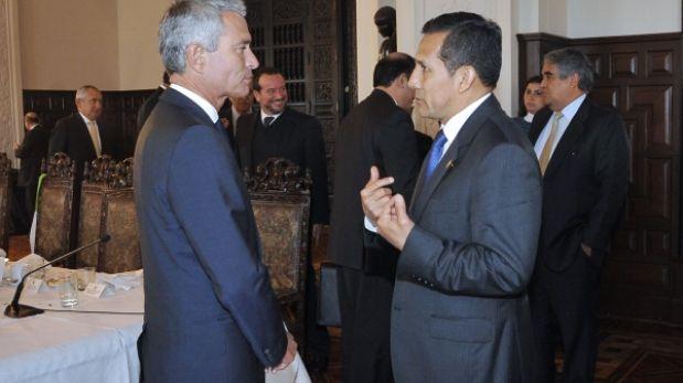"""Confiep: """"Presidente Humala tiene inventario de obras por desarrollar"""""""
