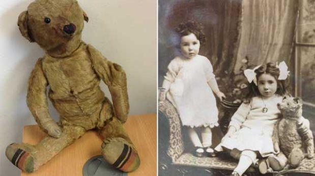 Un aeropuerto inglés busca al dueño de oso de peluche de casi 100 años
