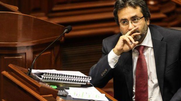 Jiménez rechazó que se utilice canal del Estado con fines políticos