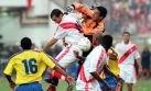 VIDEO: DT de Ecuador motivó a su plantel con este triunfo ante Perú