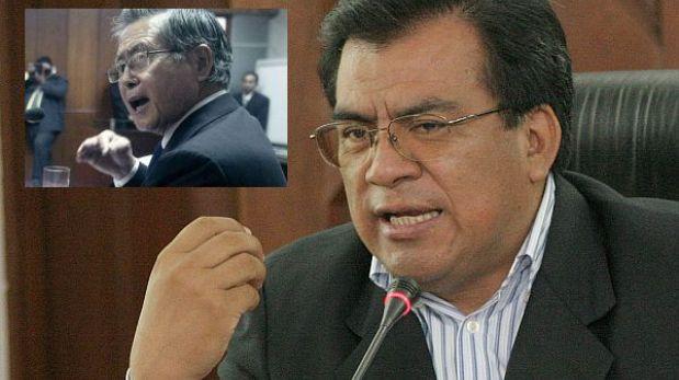 """Negativa al indulto a Fujimori debe respetarse """"nos guste o no"""", según Velásquez Quesquén"""