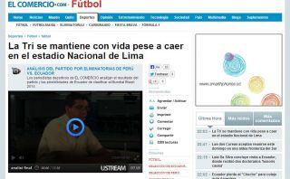 FOTOS: Perú le arrebató el invicto a Ecuador, lamentó la prensa de Quito