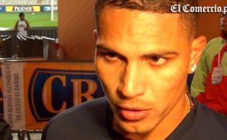 """Guerrero: """"Hay que mantener la calma, falta el partido ante Colombia"""""""