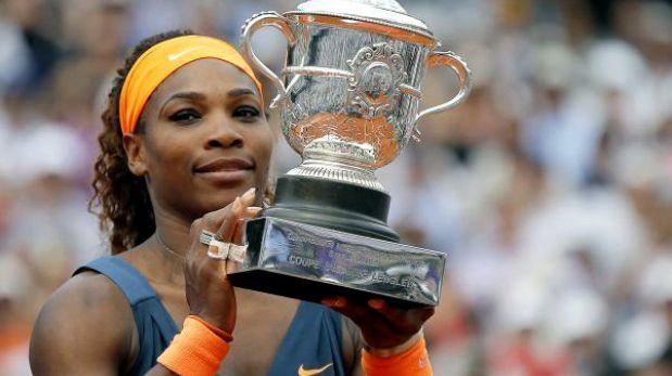 Serena Williams ganó a Sharapova y se coronó campeona de Roland Garros