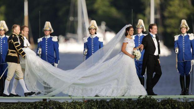FOTOS: la princesa Magdalena de Suecia y Chris O'Neill se casaron