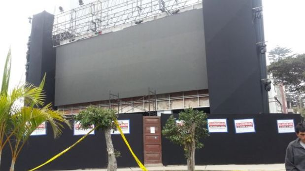 Joyería de Miraflores inaugurada por John Tranvolta fue clasurada definitivamente
