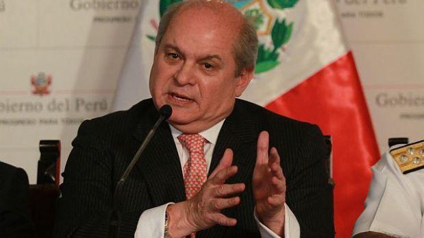 """Ministerio de Defensa denunciará a responsables de """"escucha ilícita"""" contra Pedro Cateriano"""
