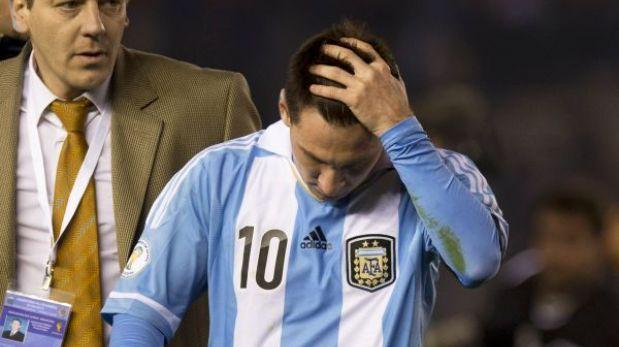 Argentina lamenta la posible ausencia de Messi ante Ecuador