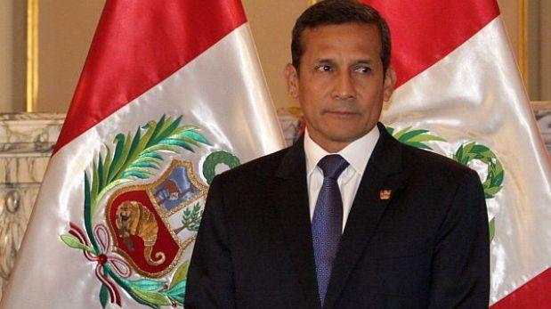El 60% de peruanos desaprueba la gestión de Humala, según Datum