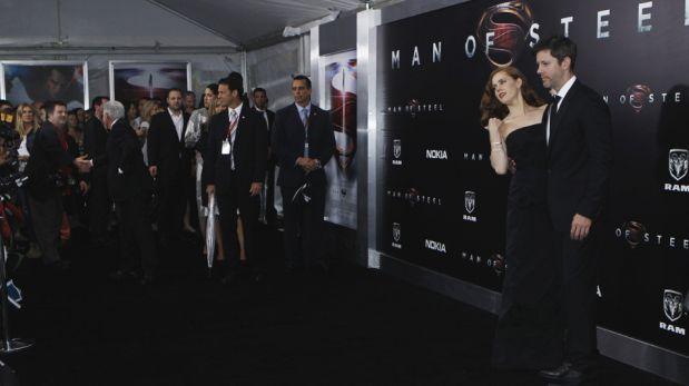 """FOTOS: estrellas de """"Hombre de acero"""" presentaron la película en Nueva York"""