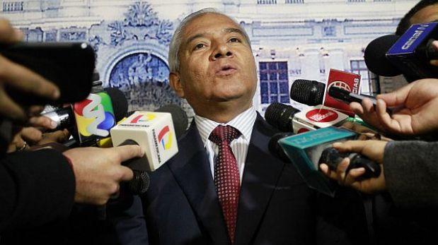 """Ministro Pedraza acudirá """"encantado"""" al Congreso si es interpelado"""