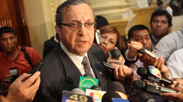 """Mora: """"No podemos poner las manos al fuego totalmente por Alejandro Toledo"""""""