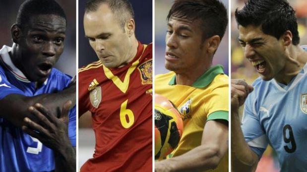 Copa Confederaciones: Brasil y Japón inauguran hoy el torneo (2:00 p.m.)