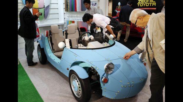 FOTOS: conoce el Camatte57s, el auto de juguete que deslumbra en el Toy Show de Tokio