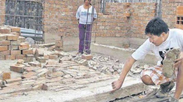 Damnificados de terremoto denuncian deficiencias en casas de Mivivienda