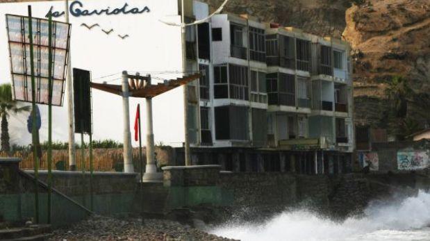 Municipalidad de Lima mitigará daños por erosión en edificio de La Herradura