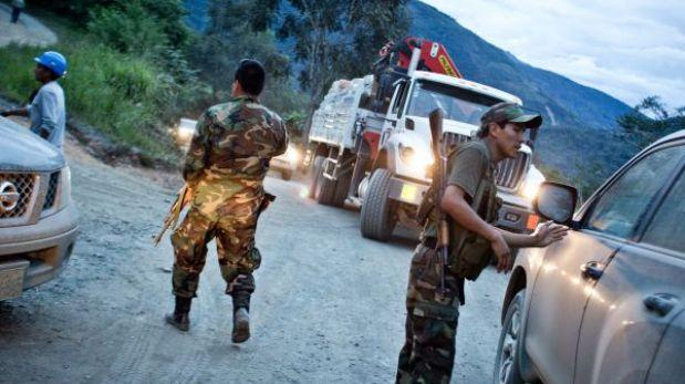 Cusco: a balazos encapuchados asaltaron buses y autos en distrito de Echarate