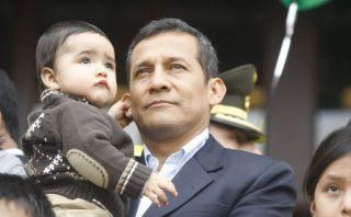 """Humala en su saludo por el Día del Padre: """"Fomenten valores en sus hijos"""""""
