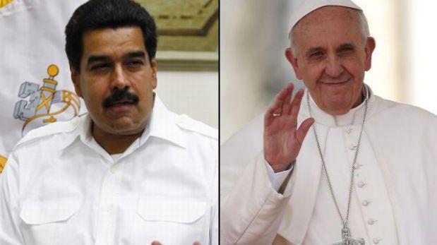 Nicolás Maduro viaja a Italia para reunirse con el Papa Francisco