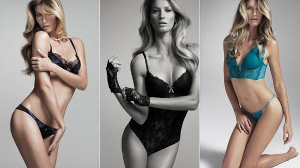 Gisele Bündchen derrocha erotismo en nueva colección de lencería