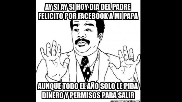 MEMES: Día del Padre también es motivo de bromas en Facebook y Twitter