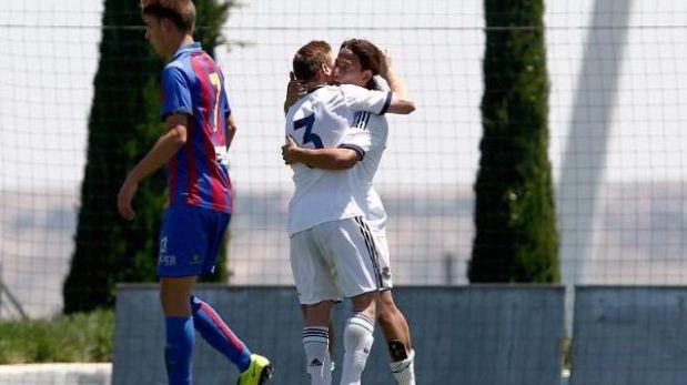 Cristian Benavente anotó el gol del triunfo para juveniles del Real Madrid