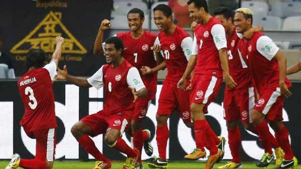 Nigeria aplastó 6-1 a la carismática Tahití en la Copa Confederaciones