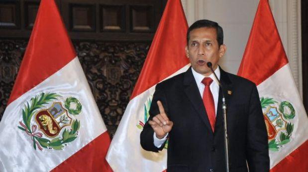 """Humala tras negativa al sorteo del Servicio Militar: """"El que pierde es el Perú"""""""