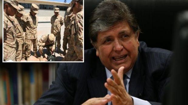 Alan García apoyó a Defensoría por acción de amparo contra servicio militar