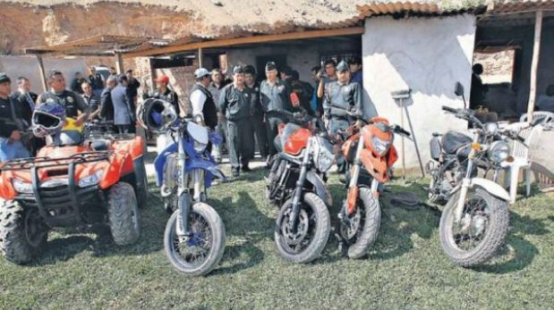 Policía cree que detenidos con arsenal en Cieneguilla cometieron 40 crímenes