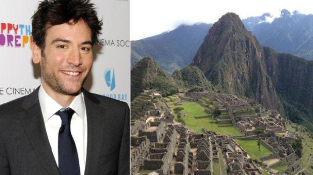 """Josh Radnor, protagonista de """"How I Met Your Mother"""", pasea en Cusco"""