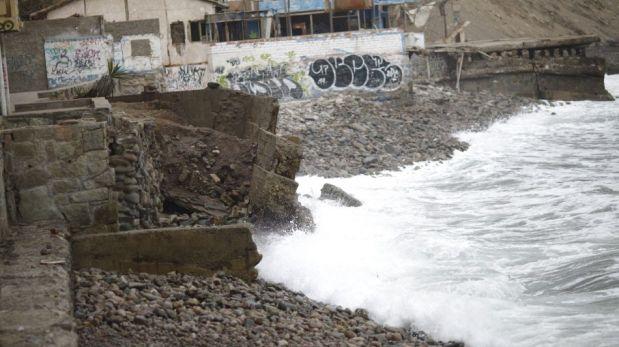 Antes y después: así luce La Herradura tras el colapso de un muro del malecón