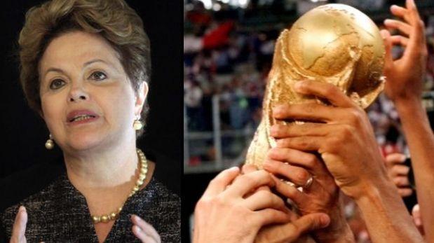 """Rousseff ante el próximo Mundial: """"Brasil merece y va hacer una gran copa"""""""