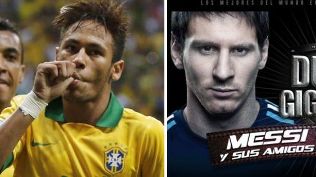 Mejor jugador del 'U'-Alianza fue invitado por Neymar para jugar contra Messi